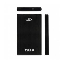 """Tooq TQE-2522B Caja externa 2.5"""" USB3.0 sata, alum - caja-externa-2.5-usb3.0-sata-tooq-aluminio-negra-iii"""