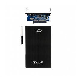 """Tooq TQE-2522B Caja externa 2.5"""" USB3.0 sata, alum - caja-externa-2.5-usb3.0-sata-tooq-aluminio-negra--v"""
