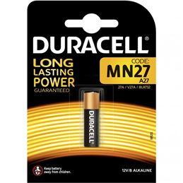 Duracell MN27 Pila alcalina 27A 12V. - duracell-pila-mn27-lr27-12v