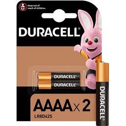 Duracell LR61 AAAA x2 Pila alcalina 1.5V - duracell-pilas-alcalinas-lr61-aaaa-15v-2-unidades