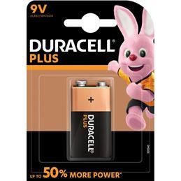 Duracell 6LR61 Pila Alcalina plus 9v. MN1604 - Duracell-Plus-9v