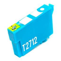 Cartucho de tinta compatible Epson T2712 cian - cartucho-tinta-epson-t2712-27xl-cian-compatible