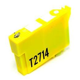 Cartucho de tinta compatible Epson T2714 amarillo - cartucho-tinta-epson-t2714-27xl-amarillo-compatible