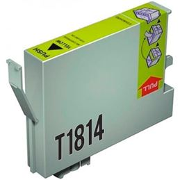 Cartucho tinta compatible Epson T1814 Amarillo - cartucho-tinta-epson-t1814-18xl-amarillo-compatible