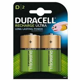Duracell HR20 Pila recargable 2200mAh x2 - Duracell-HR20-2200