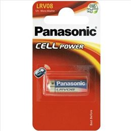 Panasonic LRV08 Pila alcalina 23A 12V. - pila-panasonic-cell-power-lrv08