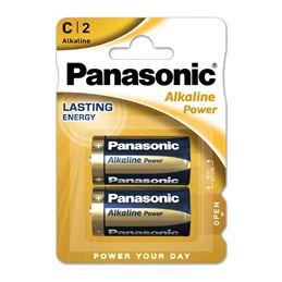 Panasonic LR14 Pila alcalina x2 - panasonic-alkaline-power-c-pack-2-pilas