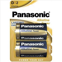 Panasonic LR20 Pila alcalina x2 - panasonic-alkaline-power-d-pack-2-pilas