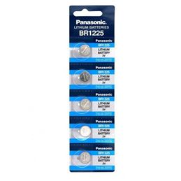 Panasonic BR1225 Pila de lítio 3V x1 - pila-boton-panasonic-br1225-3v