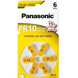 Panasonic PR10 Pila audífono Zinc Air x6 - Panasonic-PR10