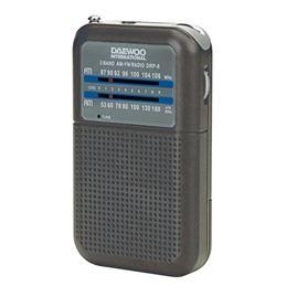 Daewoo DRP-8 Radio AM/FM gris - DAEWOO DRP-8 GRIS