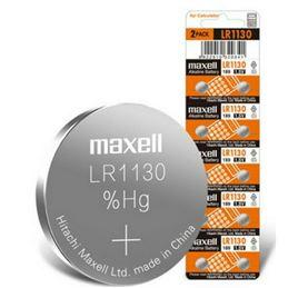 Maxell LR1130 Pila botón alcalina 1,5V unidad - maxell-lr1130