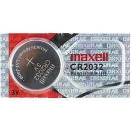 Maxell CR2032 Pila Lítio 3V unidad - MAXELL-2032
