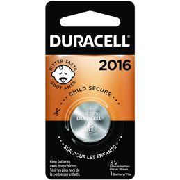 Duracell CR2016 Pila de lítio 3V - Duracell-cr2016
