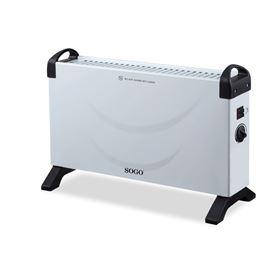Sogo SS-18415 Calefactor Convector Turbo 2000W - Sogo SS-18415 Calefactor Convector Turbo 2000W