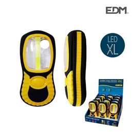 Edm 36382 Linterna Led Cob XL doble función - 36382