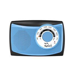 Sytech SY-1652 Radio portatil Am/Fm pilas y red - SYTECH SY-1652 AZUL