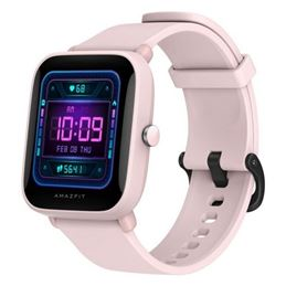 Amazfit Bip U Pro Smartwatch rosa - amazfit-bip-u-pro-rosa