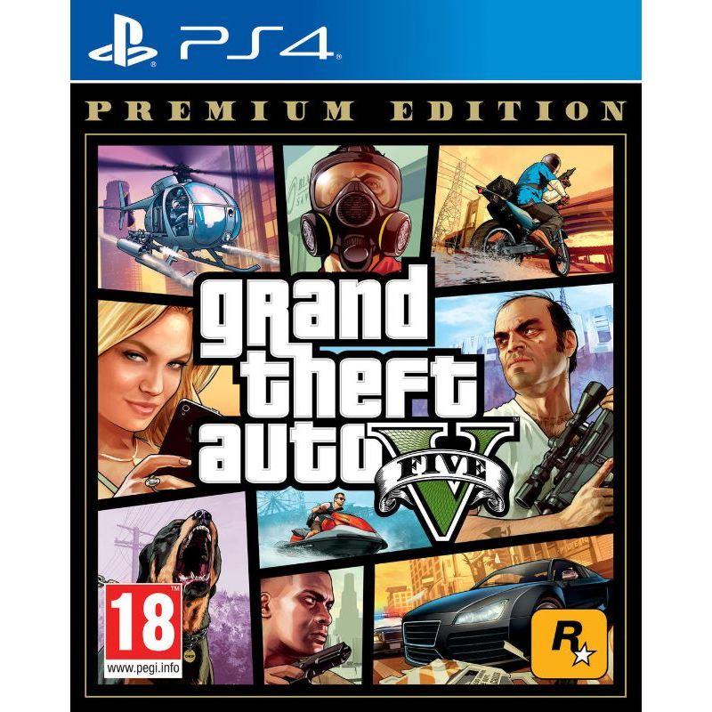 Grand Theft auto-V Premium Edition - Juego PS4 - grand-theft-auto-v-premium-edition-ps4