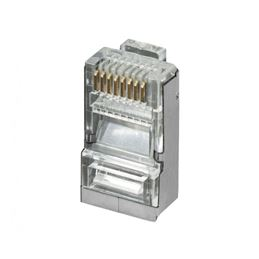 CON922 Ficha rj-45 8p8c conector FTP Cat6 cristal - nimo con922