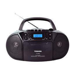Toshiba CKU-398 Radio CD-Cassette - toshiba-ty-cku39b-black