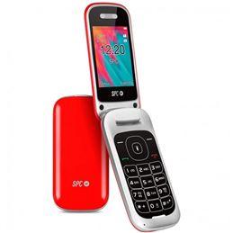 SPC Velvet 2319R Teléfono para Mayores Rojo - 2319R-spc-velvet-telefono-para-mayores-rojo