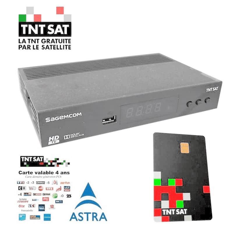Sagemcom DS81 Receptor Satélite HD TNT SAT - Sagem-DS-81-HD