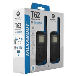 Motorola TLKR-T62 Walkie talkabout pareja azul - T62_BLUE_Packaging