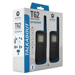 Motorola TLKR-T62 Walkie talkabout pareja Azul - T62_BLUE_Packaging