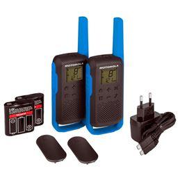 Motorola TLKR-T62 Walkie talkabout pareja azul - T62-BLUE