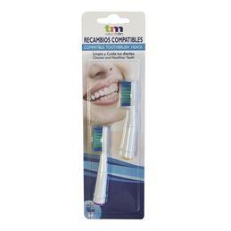 TM TMBH212 Recambio cepillo dental Oral-B (Blis-2) - TM TMBH212