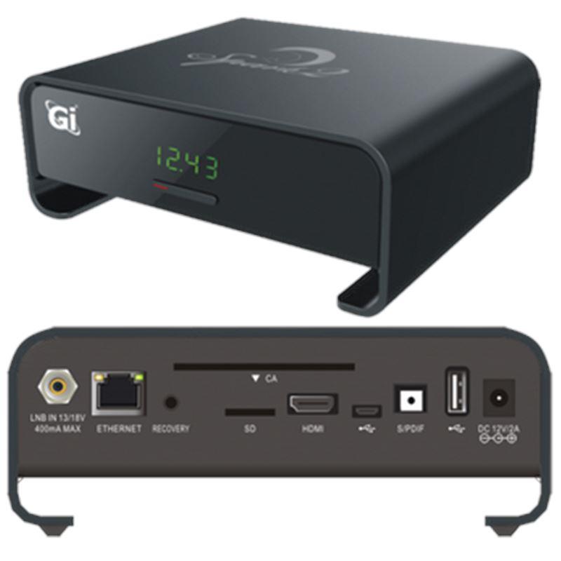 GI SPARK2 Receptor satélite HD Android-4 dorado - spark-2_black-fr
