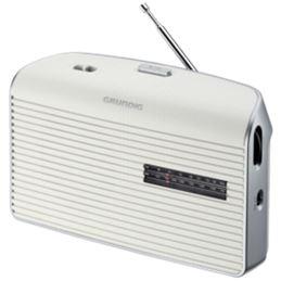 Grundig MUSIC BOY-60 Radio Portátil AM/FM blanca - Grundig MUSIC BOY-60 Radio AM-FM blanca