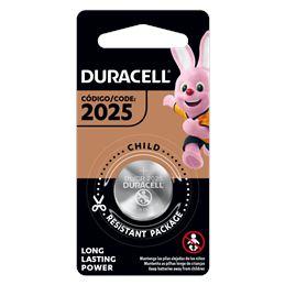 Duracell CR2025 Pila Lítio 3V - Duracel-cr2025