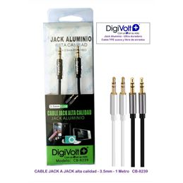 Digivolt CB-8239 Cable jack a jack m-m 3,5mm 1,00m - digivolt cb8239