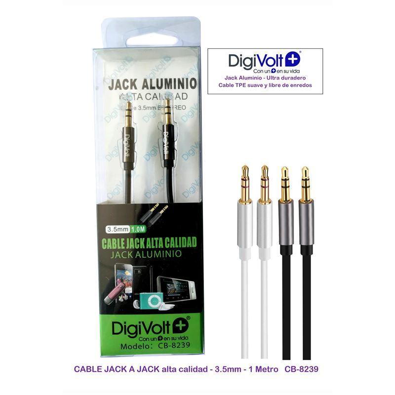 DIGIVOLT CB-8239 Cable jack/jack m-m 1,00m. - digivolt cb8239