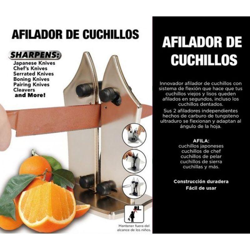 Silvano JS-019 Afilador Cuchillos - afilador-de-cuchillos-de-cocina-profesional-afila-cualquier-cuchillo