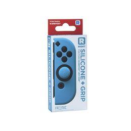 Freatec Funda Silicona+Grips Joy-Con Dcho. azul - Freatec Funda Silicona+Grips Joy-Con Derecho azul
