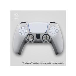 FR-TEC Funda Silicona+Grips Mando Consola PS5 - silicone-skin-grips-touchpad-sticker-translucent-fr-tec
