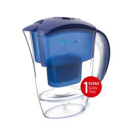 Aquanatur+Jarra Agua+filtro 2,50L. azul - AQUANATUR TMJAR025 AZUL