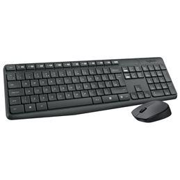 Logitech MK-235 teclado+ratón inalámbrico Usb - logitech mk-235 teclado y ratón inalámbrico usb