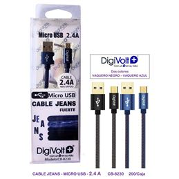 Digivolt CB-8230 Cable de carga micro Usb - digivolt cb8230