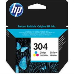 Cartucho de tinta HP 304 color original - tinta-original-hp-n-304-color-para-deskjet-3720