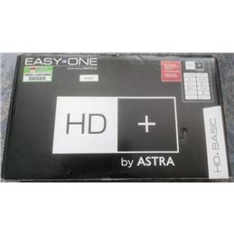 EASY ONE HD+ BASIC Receptor satélite para Alemania - easy-one