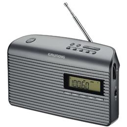 Grundig MUSIC BOY-61 Radio Digital FM AC-DC gris - GRUNDIG MUSIC-61 NEGRA