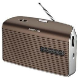 Grundig MUSIC-60 Radio Portátil AM/FM AC-DC marrón - GRUNDIG MUSIC BOY-60 MARRON