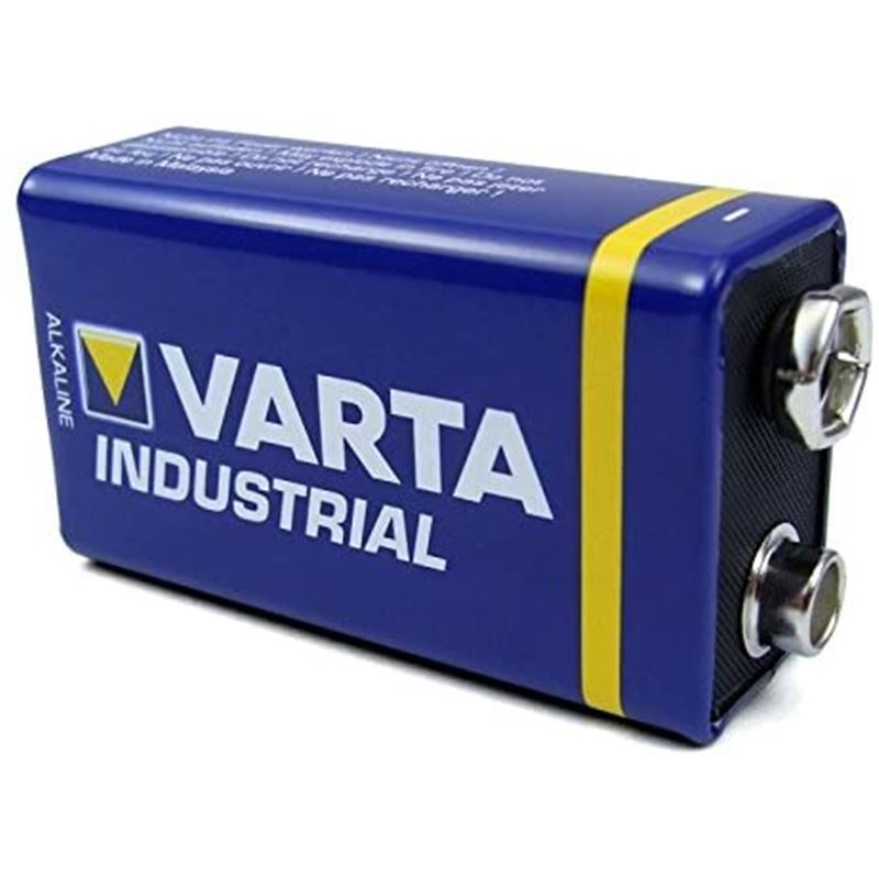 Varta 6LR61 Pila alcalina 9V industrial - varta-9v-industrial-1