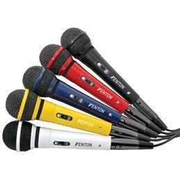 Fenton DM-120 micrófono 600Ohm/xlr (colores) - Fenton dm-120 micrófono 600Ohm-xlr (colores)