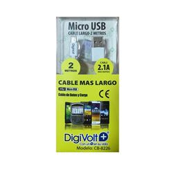 DIGIVOLT CB-8226 Cable datos micro usb 2,00m. - digivolt cb8226