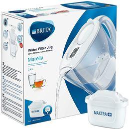 Brita Marella Jarra depuradora con 1 filtro Blanco - 4006387076610